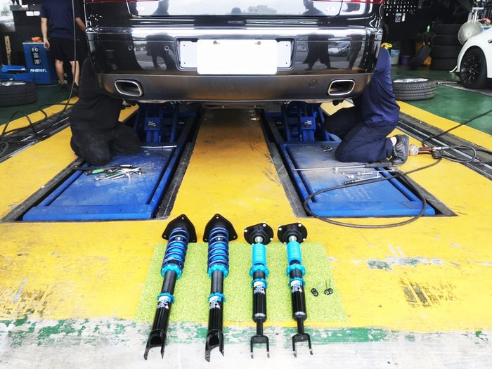 JK Racing 避震器 道路運動版 VW PHAETON 飛騰 廢除原廠氣壓式懸吊 高低 阻尼軟硬可調