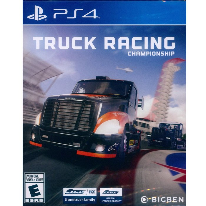 (現貨己拆) PS4 歐洲卡車錦標賽 中英文美版 Truck Racing Championship