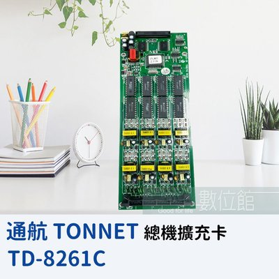 【6小時出貨】TONNET 通航 DCS30 8250D 外線擴充卡 TD-8261C 內建來電顯示 | A級福利品出清