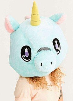【丹】A_Big Fat Head: UNICORN 獨角獸 獨角馬 造型 帽子 頭套 COSPLAY