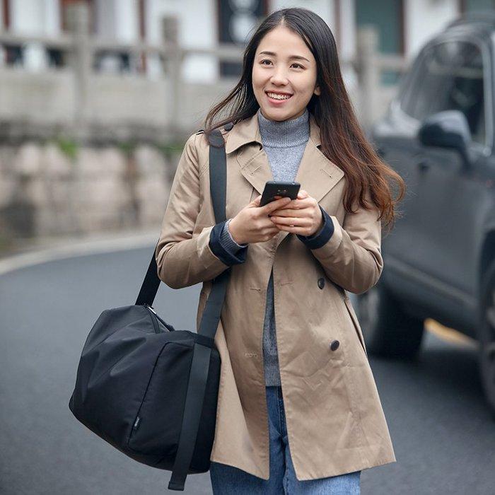 奇奇店#出差旅行包斜挎網紅女大容量短途旅行袋男手提包輕便行李袋健身包#收納用品#收納包#收納