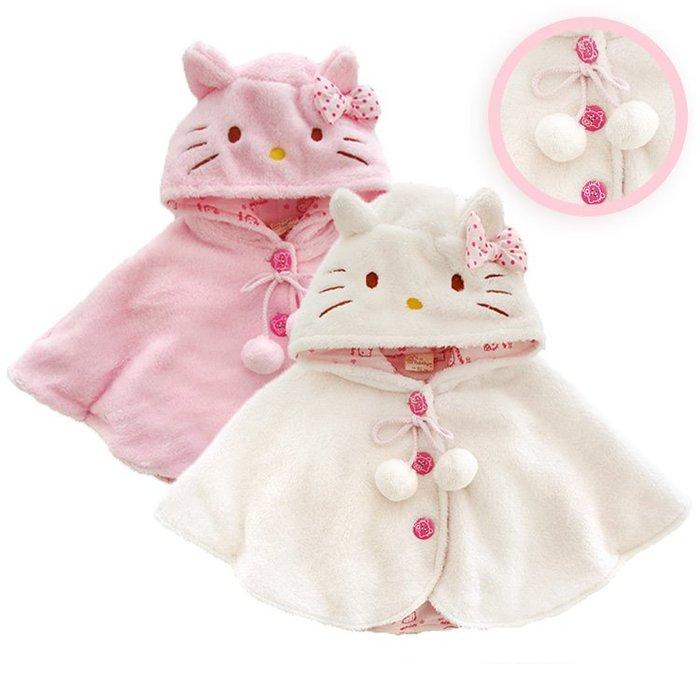 包郵 夾棉斗篷披風秋冬裝棉衣嬰兒衣服滿月周歲寶寶外套保暖披肩小王子小公主可愛套裝