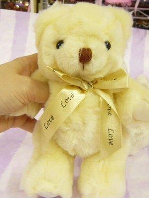 P11-~8吋20公分花束熊--60元