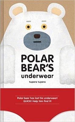 *小貝比的家*POLAR BEARS UNDERWEAR /精裝/3~6歲/中年級