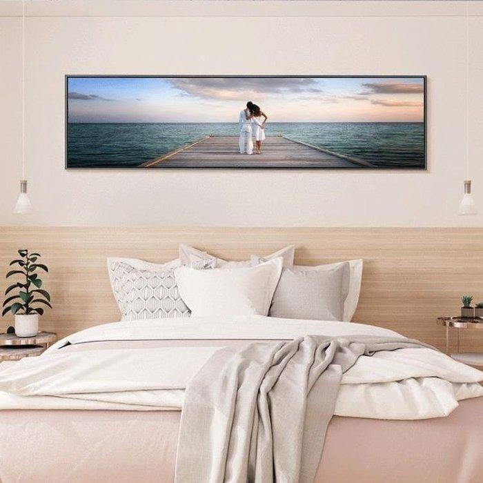 YEAHSHOP 床頭裝飾畫掛畫現代簡約大海風景畫臥室墻壁Y185
