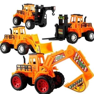 玩具 兒童慣性工程車套裝寶寶挖土機推土機鏟車吊車挖掘機玩具汽車模型 igo海淘吧/海淘吧/最低價DFS0564