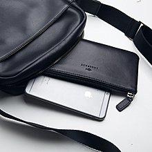男士真皮長款包牛皮手拿包手機包新簡潔女手包超薄Mandyc