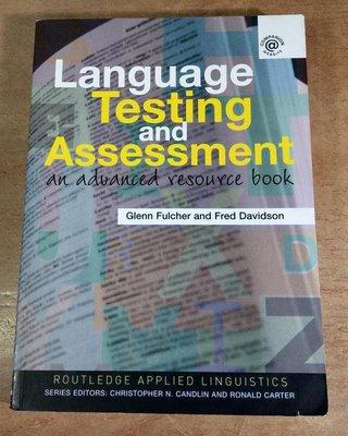 Language testing and assessment9780415339476Glenn Fulcher七成新