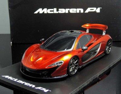 【MASH】現貨出清價 TSM 1/18 McLaren P1 Race Mode orange 2011