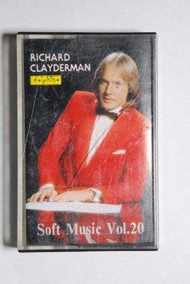 錄音帶 / 卡帶/W6/古典音樂/RICHARD CLAYDERMAN/理查克萊門/福茂/浪漫旋律第20集/非CD非黑膠
