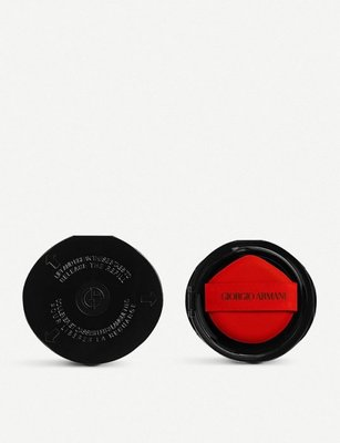Giorgio Armani 訂製絲光精華氣墊粉餅蕊#4  ~ 購於漢神百貨,高市可面交