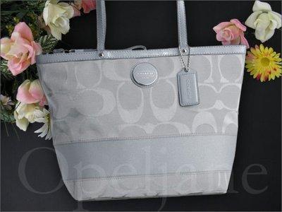 Coach Bag 經典款條紋托特包側肩背包購物包49292 25362 25051 25123免運費 Coach包包