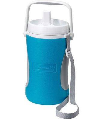 【山野賣客】美國Coleman1.89公升 野餐保冷水壺 水壺 冰桶 保冷 保溫(天空藍) CM-0451J