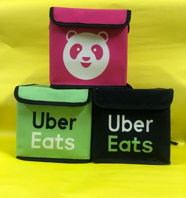 foodpanda外送帆布小背包/UberEats外送帆布小背包/小小外送員背包/迷你背包/兒童可愛小背包~可當小禮物🎁
