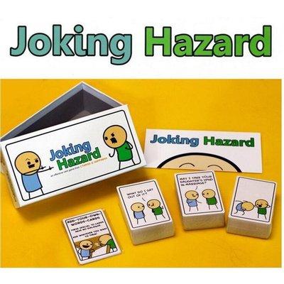 歡樂桌遊 英文版Joking Hazard 開玩笑的危害 聚會桌遊