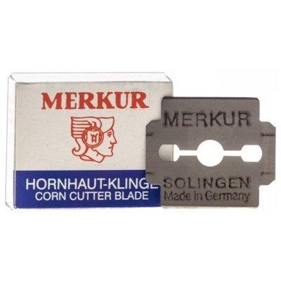 『山姆百貨』MERKUR 腳皮刀片/不鏽鋼/替換刀片 10片入 德國製 可門市自取 面交 超取