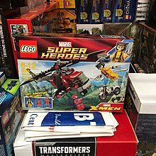 Lego 6866 Wolverine's Chopper Showdown Deadpool Magneto