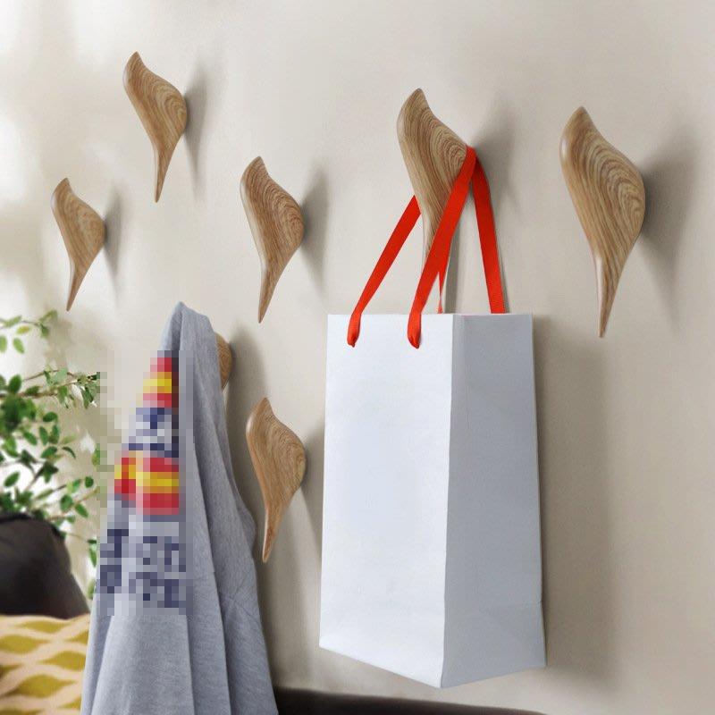 千禧禧居~創意家居墻面小鳥裝飾動物掛鉤壁飾臥室門后掛鉤掛衣鉤立體單鉤子