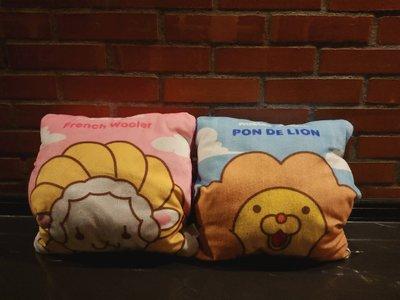 Mister Donut 抱枕▽法蘭奇洋▽甜甜圈波堤獅▽不拆賣▽定期送洗