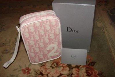 【∮魔法時光∮】DIOR迪奧 全新完美粉紅數字2號包/2號數字包 絕版品(含專屬禮盒/保證卡)