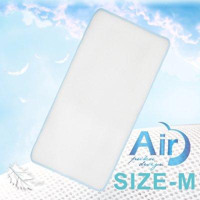 PUKU藍色企鵝-Air超透氣排汗3D床墊-(M)60*120*1.5cm(P30411)