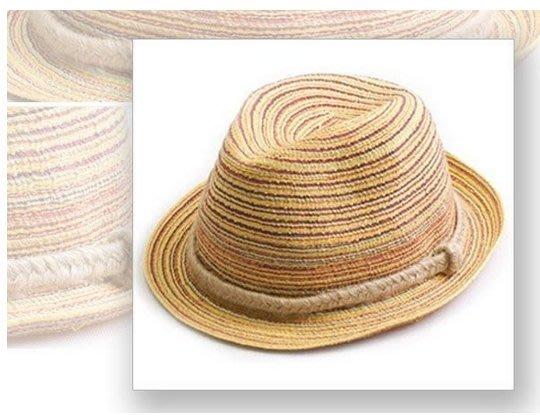 生活家-《現貨/可超取》 沙灘帽 情侶帽 草編帽 太陽帽 波西米亞 休閒【T06002】