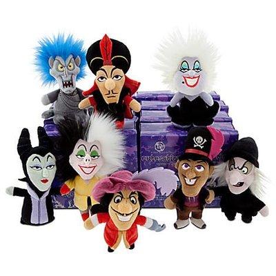 美國Disney Villains迪士尼壞人反派Q版可愛玩偶 白雪公主魔女.睡美人巫婆.小美人魚烏蘇拉