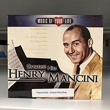 Henry Mancini Greatest Hits CD