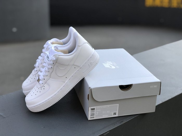 【G CORNER】Nike Air Force 1'07 經典 全白 男女 DD8959-100 CW2288-111
