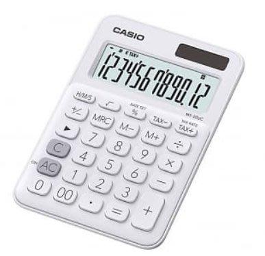 【天龜】 CASIO 時尚甜美 牛奶白馬卡龍計算機 12位數 利潤率計算 稅金計算 MS-20UC WE 台中市