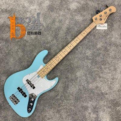 【反拍樂器】免運 Bacchus Universe系列 WJB-330R SOB 貝斯 天藍色 入門最佳選擇