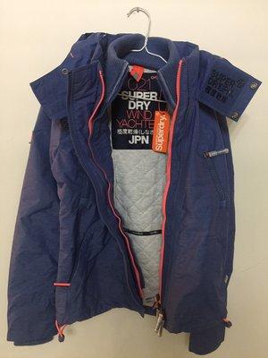 Superdry 藍紫色外套 + Self-Portrait 黑色蕾絲上衣 - 2件商品下標區
