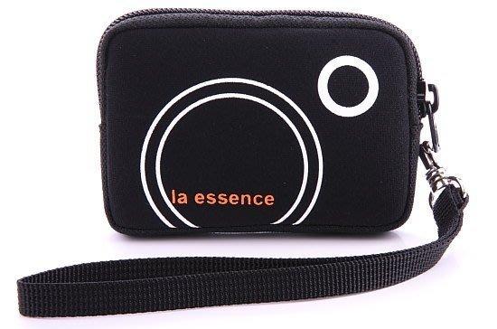 la essence 熱賣商品LE-9303H 卡片/ 零錢包/ 手機袋/ 相機包(附手腕帶) 潛水衣布.防震.抗摔