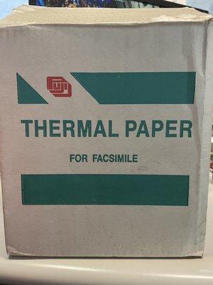 【尚典中古家具】THERMAL PAPER FOR FACSIMILE傳真紙 (一箱12卷)