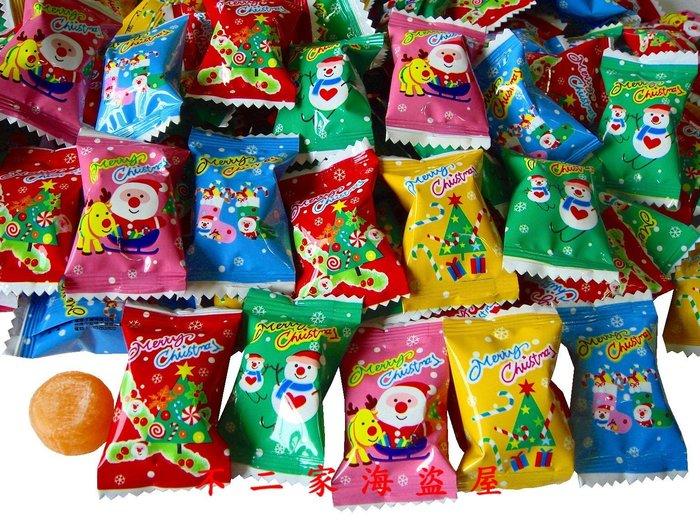 【不二家海盜屋】*超取滿799元免運費-快樂--聖誕水果糖--500g90元--辦活動.生日派對.聖誕節糖果零嘴A2