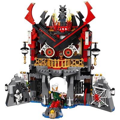 【預購+免運費】2018新品樂高Lego拼裝積木玩幻影忍者加滿都魔王的復活神殿70643