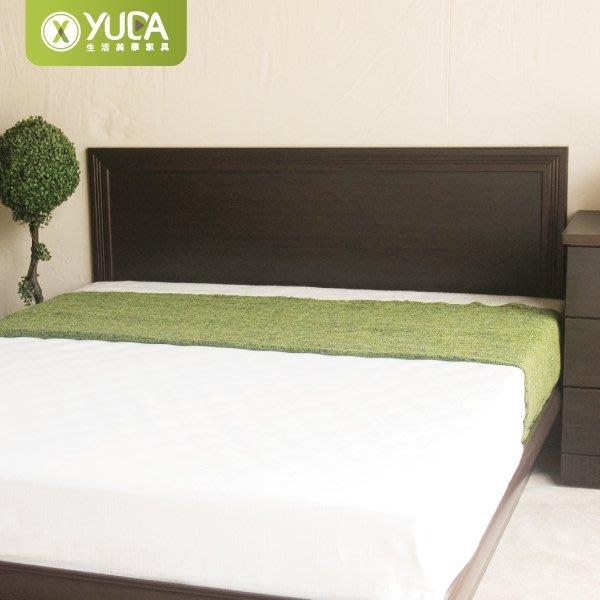 【YUDA】高度可訂製 依蝶素面 5尺雙人床頭片/床頭板/床板 (非床頭箱/床頭櫃)6色選擇 新竹以北免運