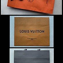 100%名牌正貨愛馬仕Hermes、BV Bottega Veneta及LV Louis Vuitton購物紙袋Shopping Paper Bag 共3個