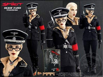 全新沒有開封 HOTTOYS MMS92 HT 閃靈俠 斯嘉麗 女纳粹 德國党衛軍 Spirit