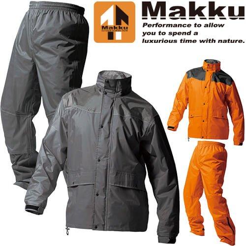 《FOS》日本 Makku 二件式 機能 雨衣 AS-5400 機車 通勤 重機 外送員 登山 旅遊 梅雨 防水 雨天