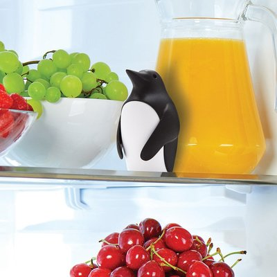 夏丫現貨 以色列Monkey Business小企鵝冰箱除味器除味盒小蘇打收納盒