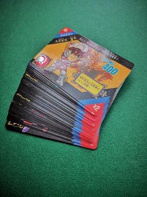 港版Q版聖鬥士星矢2代白咭卡一套36張