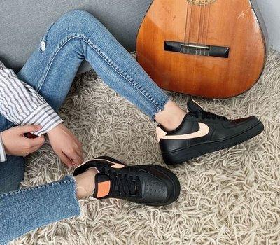 5號倉庫 NIKE Air Force 1 低筒 運動 女鞋 經典款 氣墊  黑粉315115039 現貨