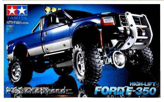 TAMIYA 田宮 1/10 遙控車 RC Ford F350 High-Lift - 4X4-3SPD (58372)