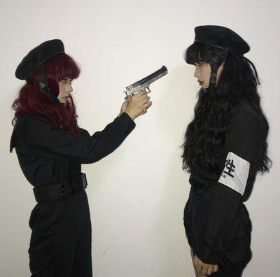 ~黑店~訂製款 特殊 扣帶貝雷帽  帽子 可拆卸安全帶扣帶帽 單品 OT106