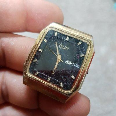 日本 TELUX 男錶 石英錶 零件料件 另有 飛行錶 水鬼錶 軍錶 機械錶 三眼錶 陶瓷錶 G04