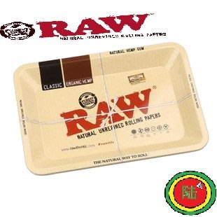 【Triple6】西班牙原裝 RAW Rolling Tray 捲菸盤 捲煙盤 鐵盤(中型)