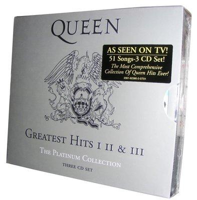 美版全新3CD~《皇后合唱團》終極精選典藏Queen - The Platinum Collection
