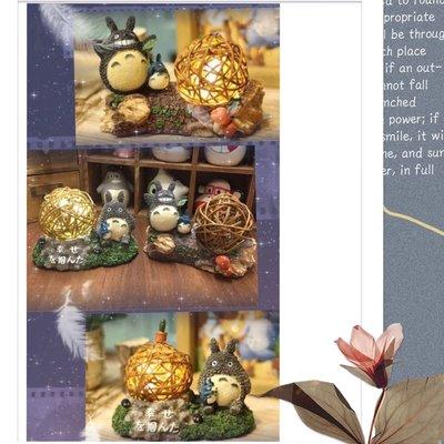 《瘋狂大賣客》(出清)TOTORO 吉卜力 宮崎駿 龍貓 無臉男 小夜燈 可愛 造景 動漫 卡通 創意 療癒 聖誕禮物 送禮 生日禮物 造型 擺飾 公仔 微景觀