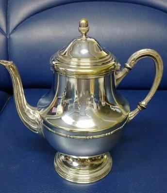 24 歐洲鍍銀茶壺 teapot metal silver plate